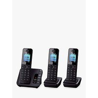Panasonic KX-TGH223EB Digital Telephone and Answering Machine with Nuisance Call Control, Trio DECT