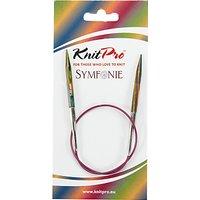 Knit Pro 40cm Symfonie Fixed Circular Knitting Needles, 5mm