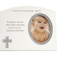 John Lewis Baby Christening Day Photo Frame