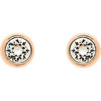 Finesse Swarovski Crystal Stud Earrings, Rose Gold