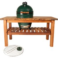 Big Green Egg Large BBQ Table Bundle