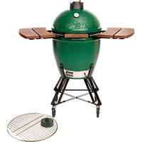 Big Green Egg Large BBQ with Shelves