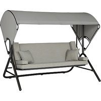 John Lewis Henley by KETTLER Outdoor Swing Seat, Grey
