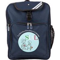 La Scuola Italiana A Londra Backpack, Navy