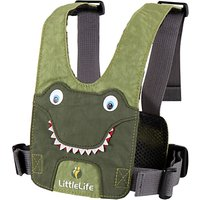LittleLife Crocodile Animal Harness, Green