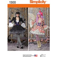 Simplicity Womens Costumes Sewing Patterns, 1300