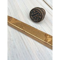 StompStamps Personalised Brass Wax Seal Initial and Wax Stick