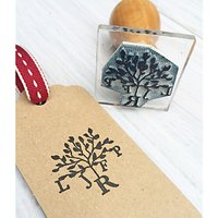 StompStamps Personalised Family Tree Monogram Stamp