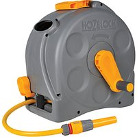 Hozelock Compact Reel with Multi-Purpose Hose, 25m