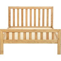 John Lewis and Partners Cooper Bed Frame, King Size, Oak