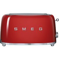 Buy Smeg TSF02 4-Slice 2-Slot Toaster - John Lewis & Partners