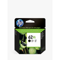 HP 62XL Ink Cartridge, Black, C2P05AE