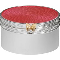 Vera Wang for Wedgwood Silver Plated Treasures Box