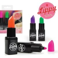 Mustard Lippy Markers, Multi, Pack of 4