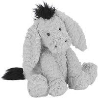 Jellycat Fuddlewuddle Donkey Soft Toy, Medium, Grey