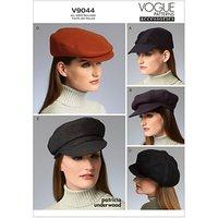 Vogue Patrcia Underwood Womens Hat Sewing Pattern, 9044