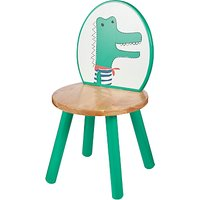John Lewis Baby's Noah's Ark Crocodile Chair, Green