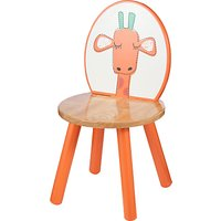 John Lewis Baby's Noah's Ark Giraffe Chair, Orange