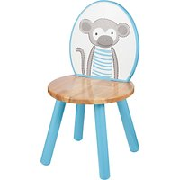 John Lewis Baby's Noah's Ark Monkey Chair, Blue