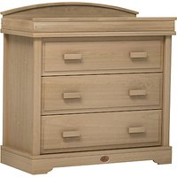 Boori 3 Drawer Dresser with Arched Change Station, Almond