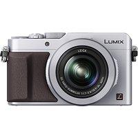 Panasonic Lumix DMC-LX100 Camera, 4K Ultra HD, 12.8MP, 3.1x Optical Zoom, EVF, 3 LCD Screen