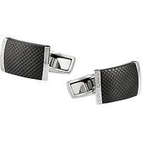 Montblanc Creative Stainless Steel Cufflinks, Black/Silver