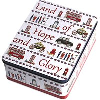 Milly Green Land of Hope and Glory Tin of Biscuits, 400g