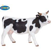 Papo Figurines: Black & White Cow