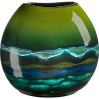 Poole Pottery Maya Purse Vase, H20cm