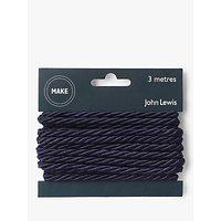 John Lewis Cord, 3m, Navy 53