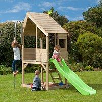 TP Toys TP321S Wooden Playhouse & Slide Set