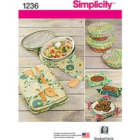 Simplicity Kitchen Accessories Sewing Pattern, 1236