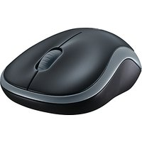Logitech M185 Wireless Mouse, Grey