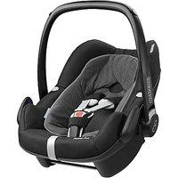 Maxi-Cosi Pebble Plus i-Size Group 0+ Baby Car Seat, Black Raven