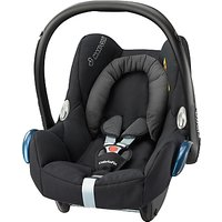 Maxi-Cosi CabrioFix Group 0+ Baby Car Seat, Black Raven