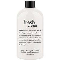 Philosophy Fresh Cream Shower Gel, 480ml