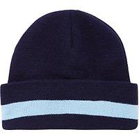 La Scuola Italiana A Londra Knitted Hat, Navy