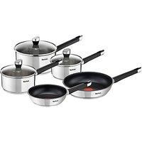 Tefal Emotion Stainless Steel Pan Set, Set of 5