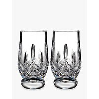 Waterford Lismore Connoisseur Cut Lead Crystal Whisky Tasting Tumblers, 170ml, Set of 2