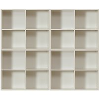 Stompa Uno S Plus 4 Unit Storage Combination, White