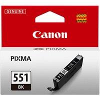 Canon CLI-551BK Inkjet Cartridge, Black