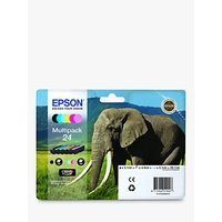 Epson Elephant 24 Ink Cartridge Multipack