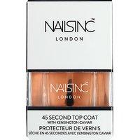 Nails Inc Kensington Caviar 45 Second Top Coat, 14ml