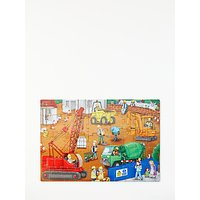John Lewis Construction Site Floor Jigsaw Puzzle