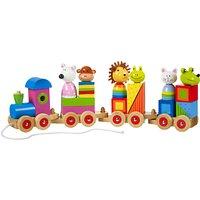 Orange Tree Animal Puzzle Train