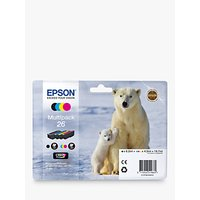 Epson Polar Bear 26 Ink Cartridge Multipack