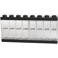 LEGO Minifigure Display Case, 16 Figures, Black