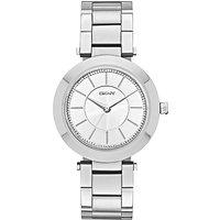 DKNY NY2285 Womens Stanhope Stainless Steel Bracelet Strap Watch, Silver