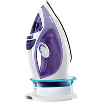Philips GC2086/30 EasySpeed Plus Cordless Steam Iron with Compact SmartCharging Base
