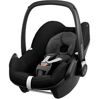 Maxi-Cosi Pebble Group 0+ Baby Car Seat, Black Devotion